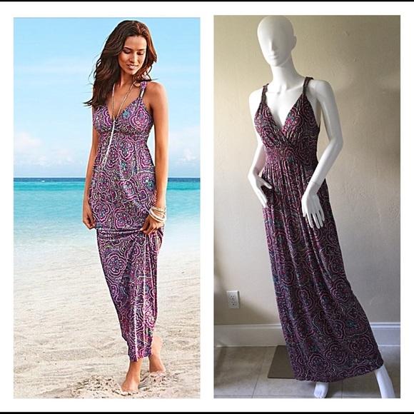 acd14ed950 Lascana For Venus Maxi Dress Size 4 - Beautiful! M_5aee122d46aa7c02199f31f3